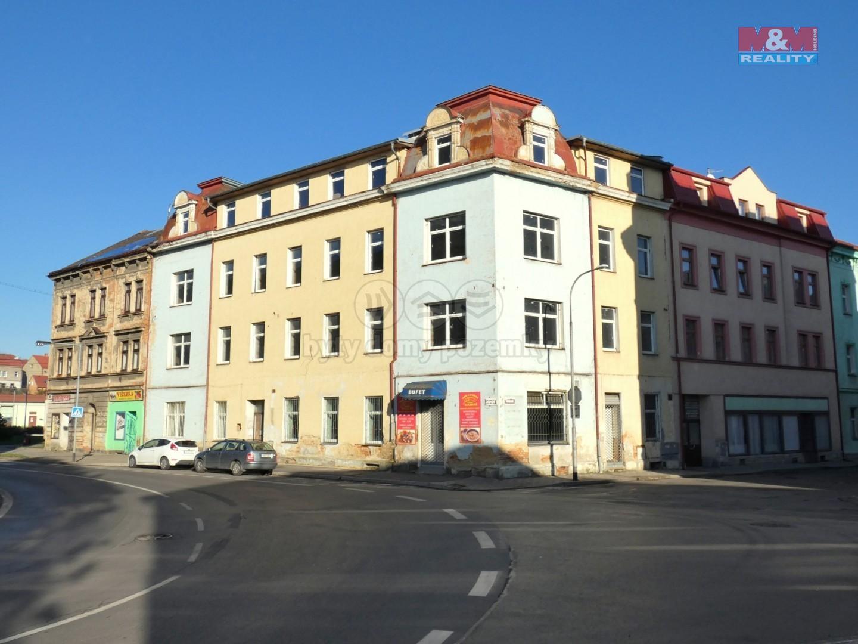Prodej nájemního domu, 1350 m², Sokolov, ul. Nádražní