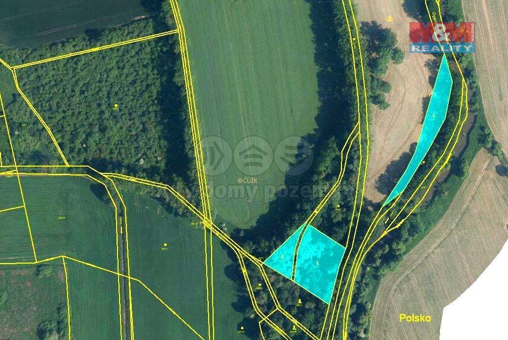 Prodej lesa, 6063 m², Úvalno