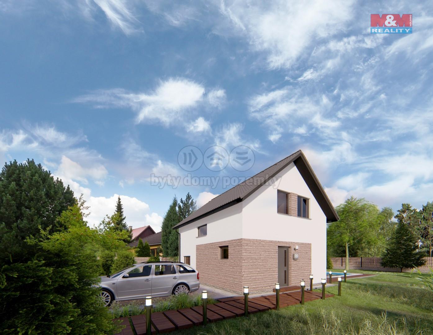 Prodej, rodinný dům, 5+kk, 95 m2, Pňovany