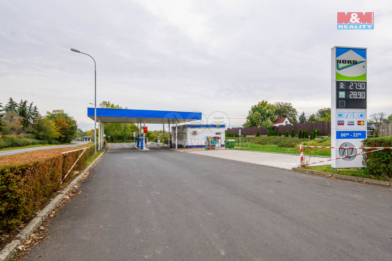 Prodej čerpací stanice, 2909 m², Jirkov, ul. Palackého