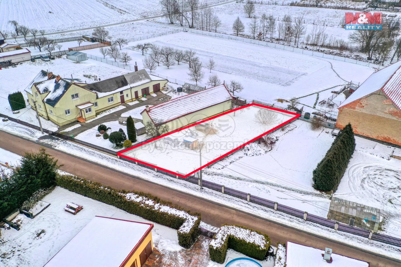 Prodej pozemku k bydlení, 717 m², Močerady