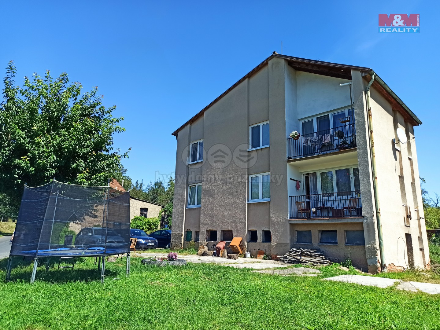 Prodej, byt 3+1, 74 m2, Kounov