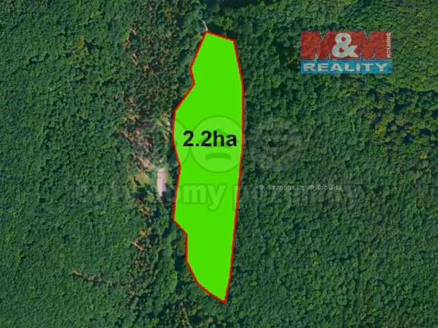 Prodej pastviny, 22544 m², Komorní Lhotka