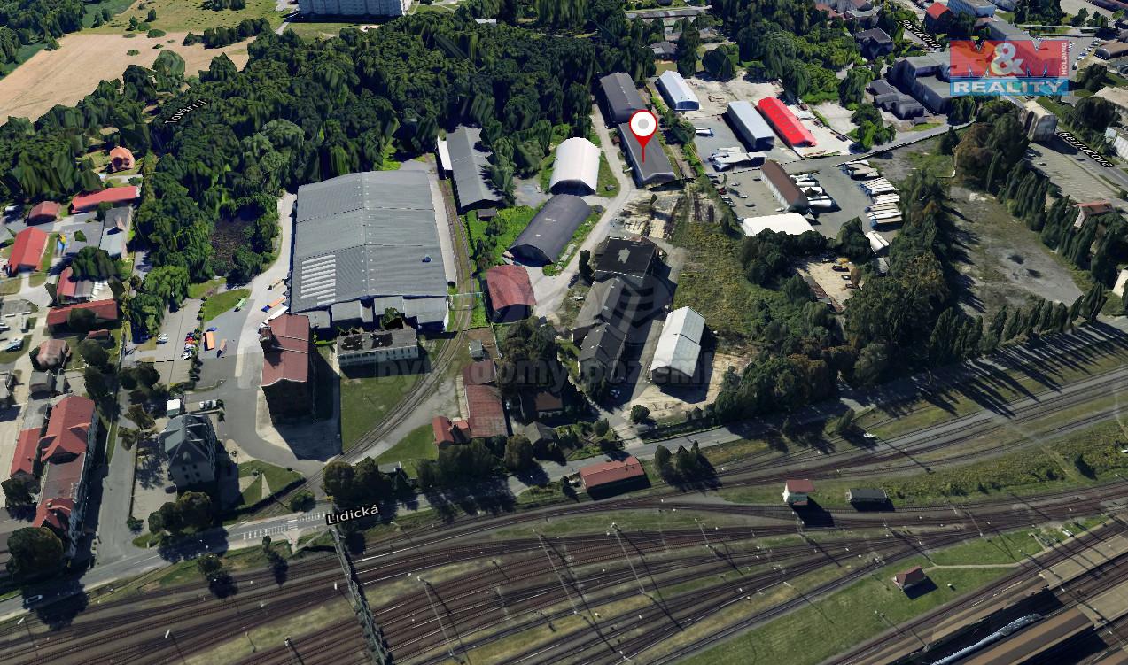 Pronájem výrobního objektu, 1000 m², Bohumín, ul. Lidická