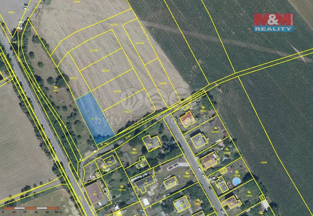Prodej pozemku k bydlení, 822 m², Sobotka