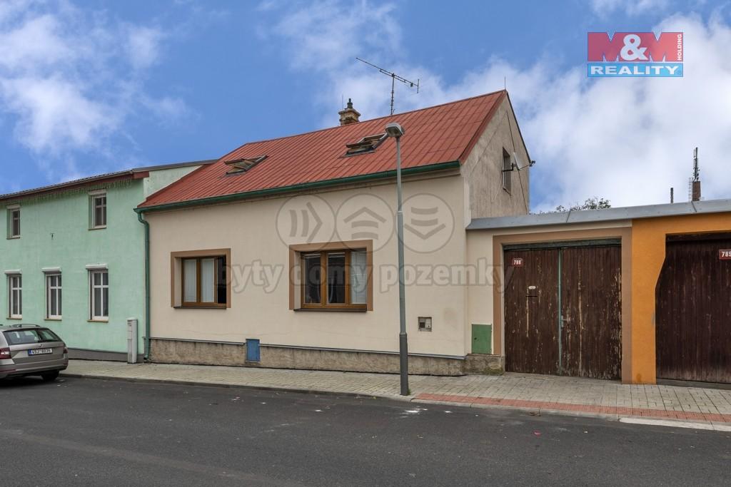 Prodej, rodinný dům, 514 m2, Louny, ul. Bezručova