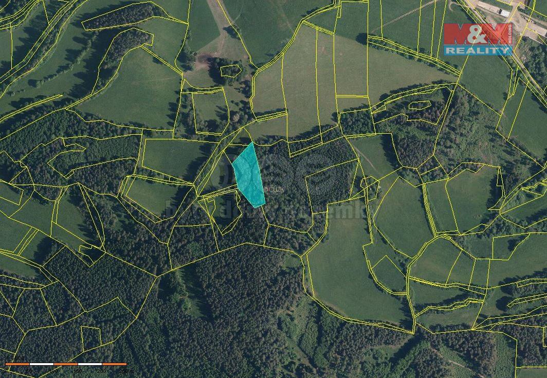 Prodej lesa, 29324 m², Volyně