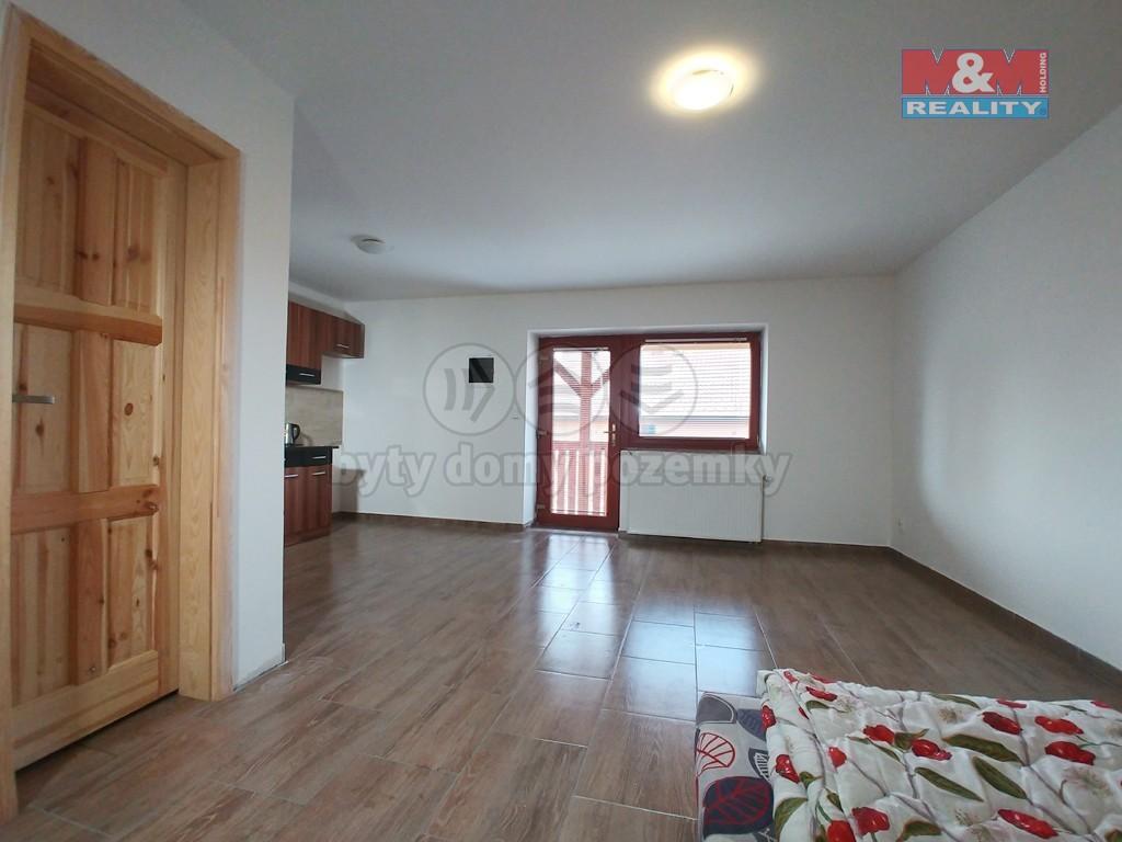 Pronájem, byt 1+kk, 32 m², Křoví