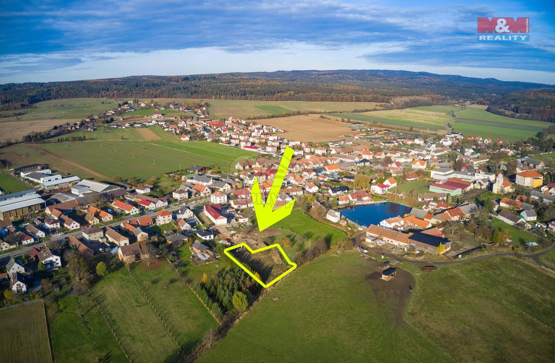 Prodej pozemku k bydlení, 1625 m², Volduchy