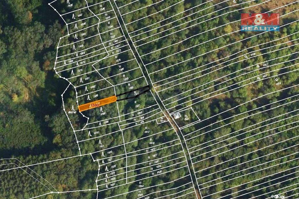Prodej lesa, 310 m², Uherský Brod