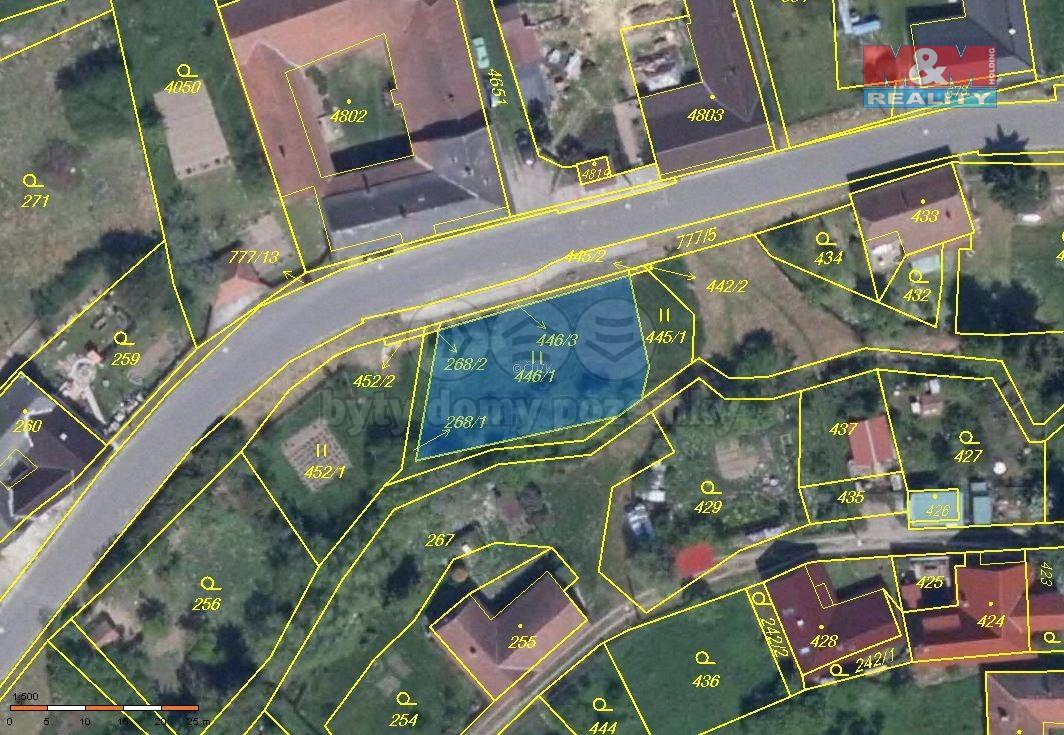 Prodej pozemku, 512 m², Skřípov