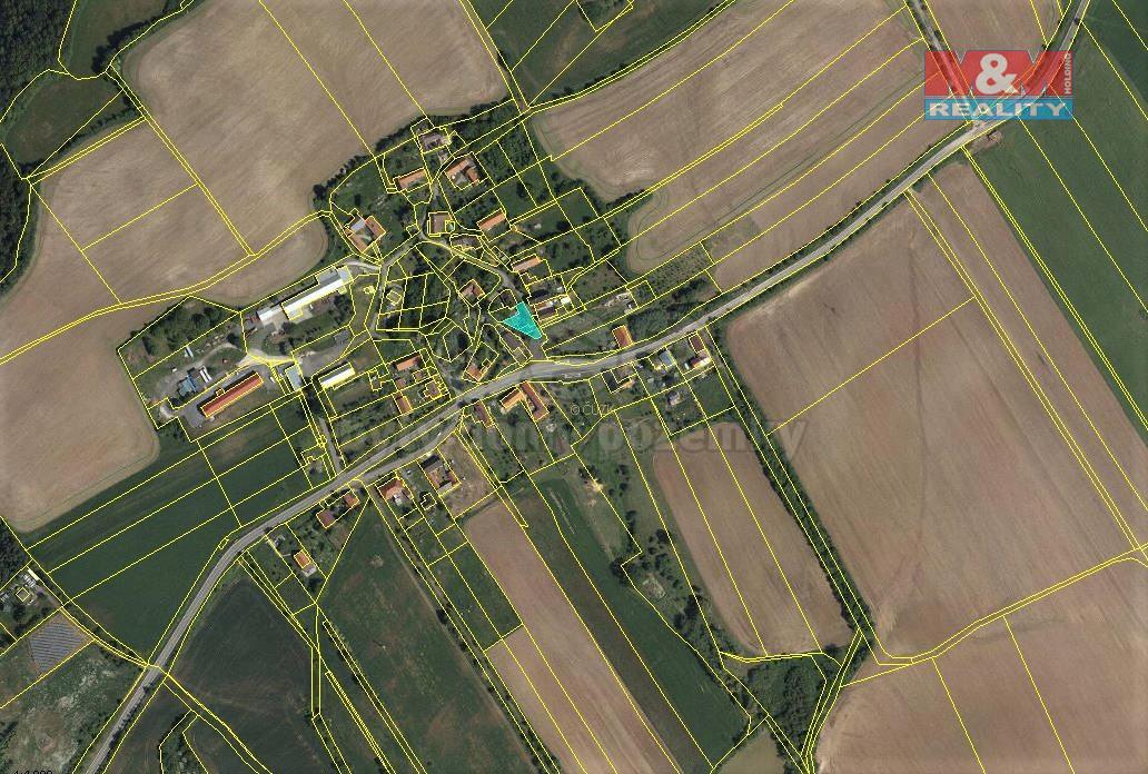 Prodej louky, 4461 m², Fulnek-Pohořílky