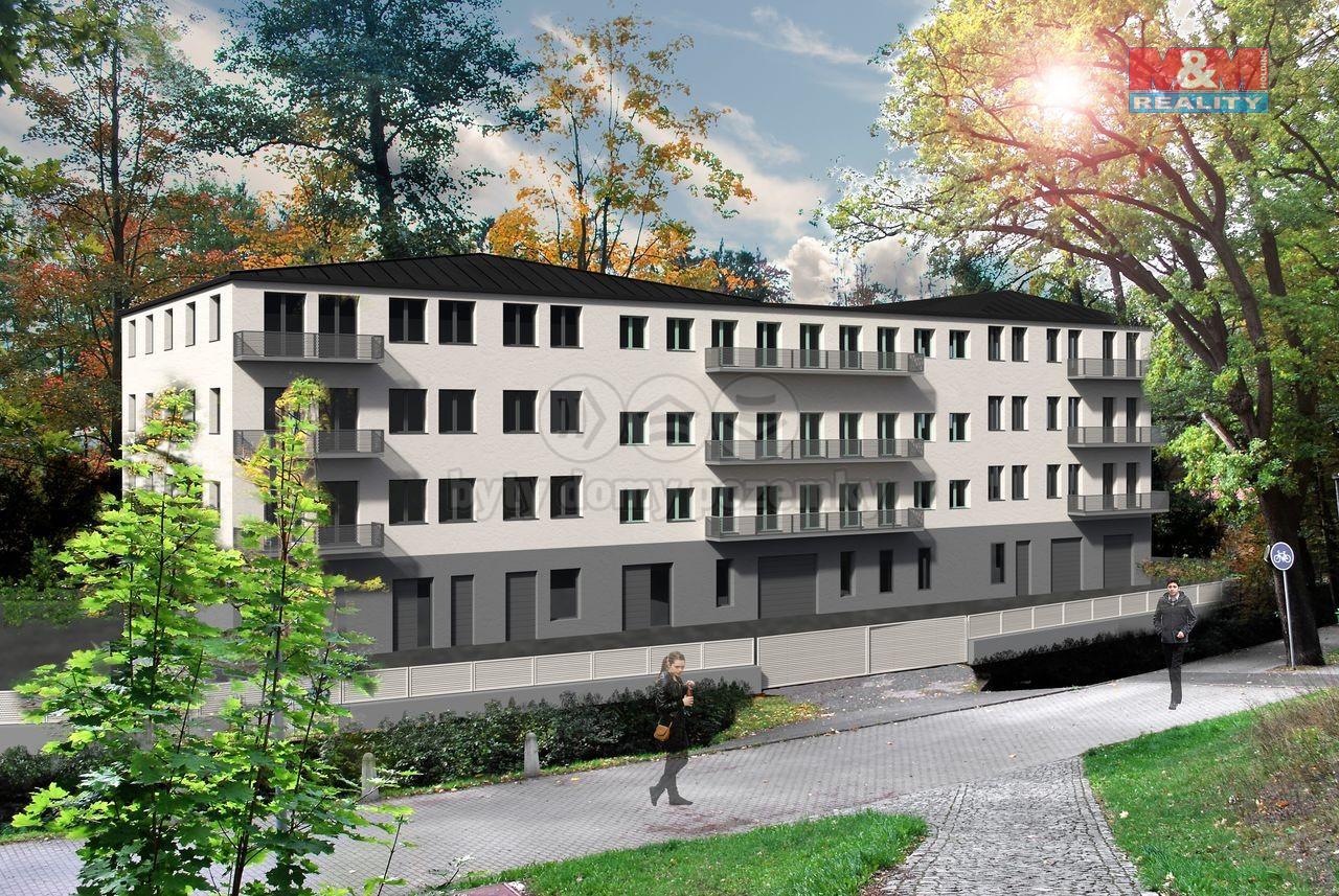 Prodej bytu 1+kk, 48 m², Cheb, ul. Břehnická