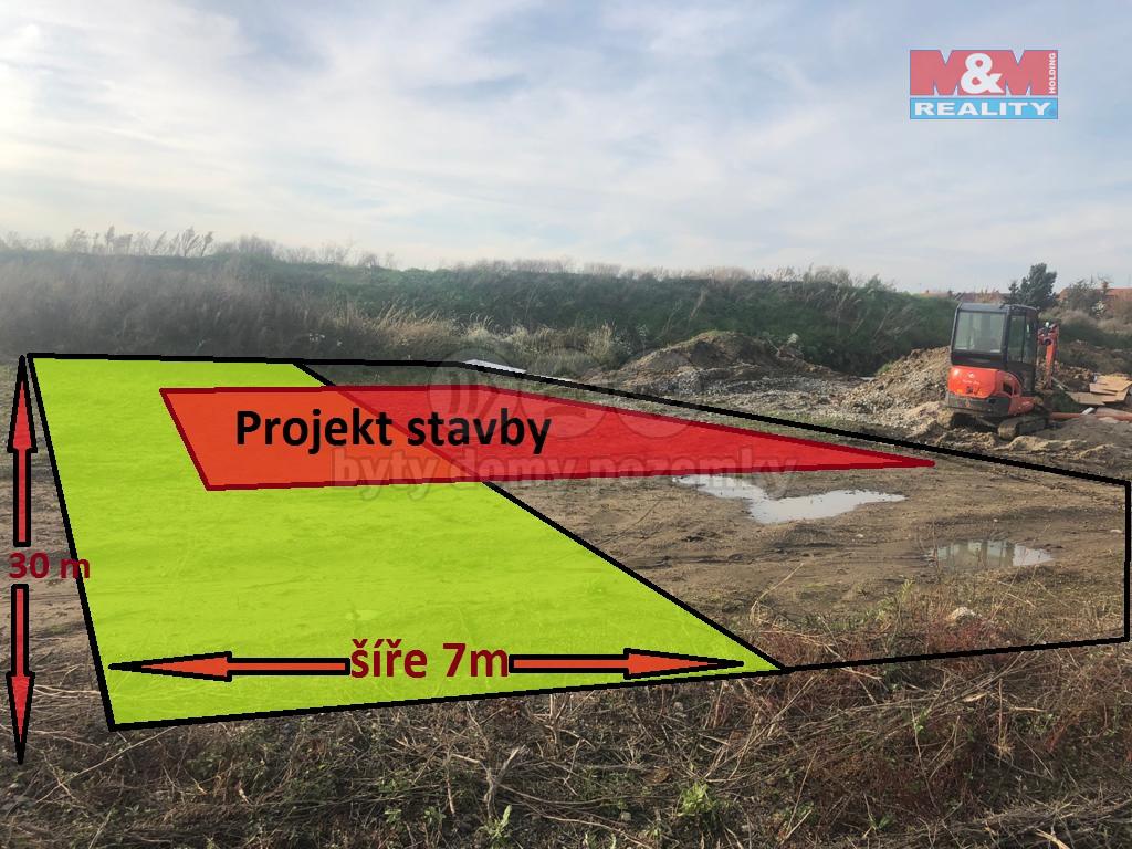 Prodej pozemku k bydlení, 210 m², Skrbeň