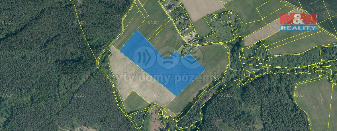 Prodej zahrady, 32000 m², Tymákov okr. Plzeň-město