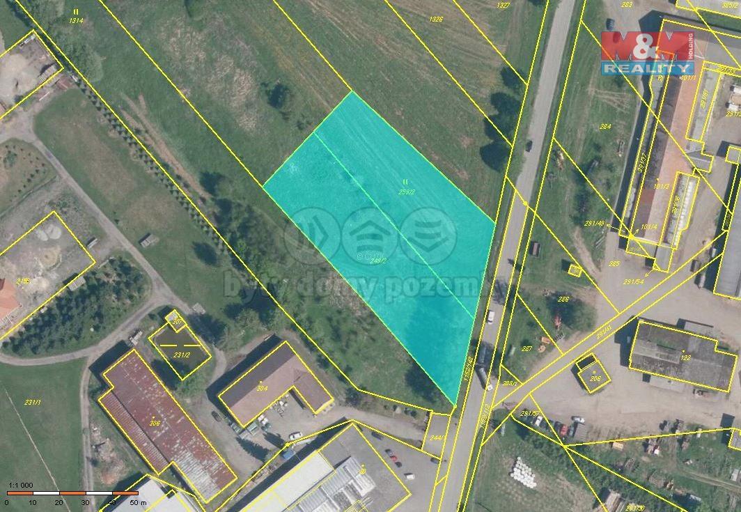 Prodej pozemku, 5009 m², Božejov