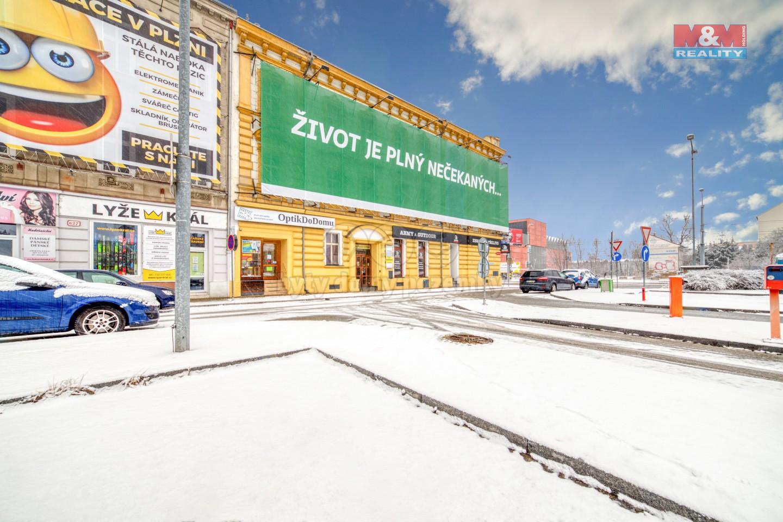 Pronájem kanceláře, 136 m², Plzeň, ul. Palackého náměstí