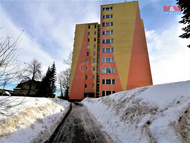 Pronájem bytu 1+1, 30 m², Jablonec nad Nisou, ul. Na Výšině