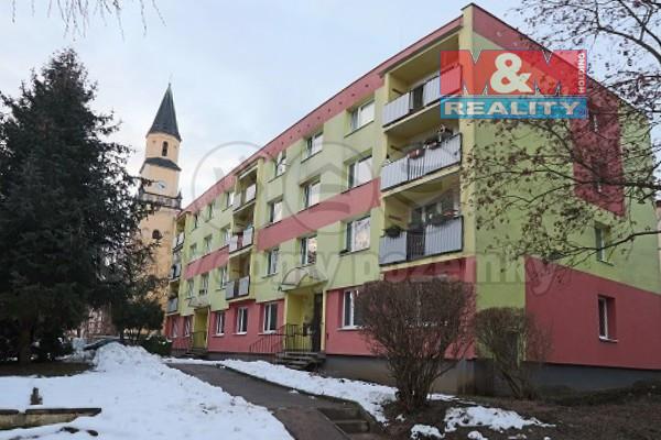 Prodej bytu 1+kk v Chlumci, ul. Krušnohorská