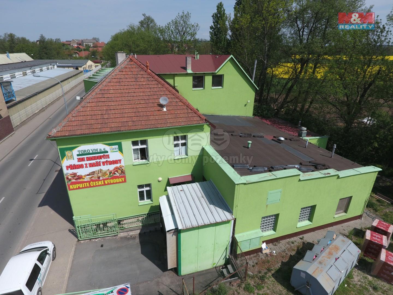 Prodej výrobního objektu,1471 m², Vysoké Mýto,ul. Choceňská