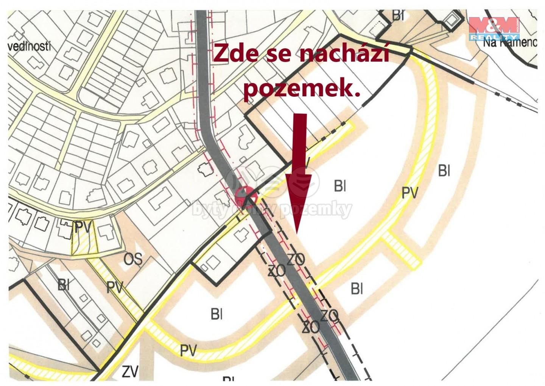 Prodej pozemku k bydlení, 3381 m², Kostelec nad Orlicí