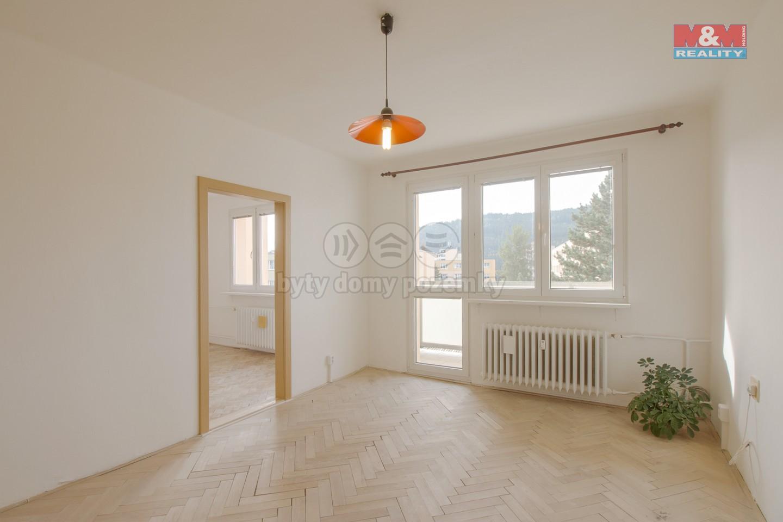 Prodej bytu 3+1 s balkonem, Tanvald, ul. Radniční