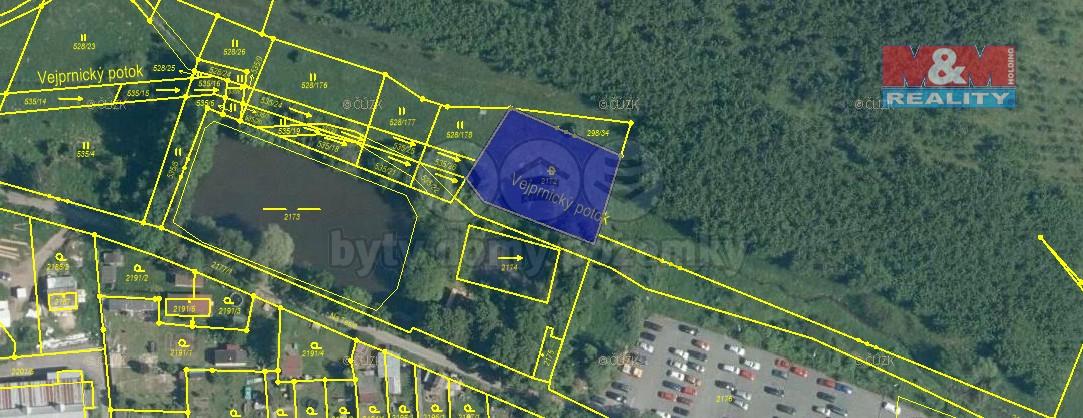 Prodej pozemku, 864 m², Nýřany