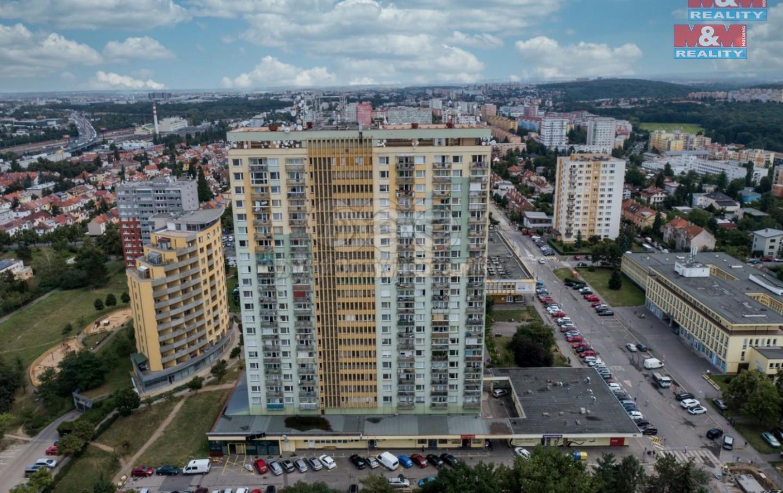 Pronájem bytu 1+kk, 25 m², Praha, ul. Jabloňová