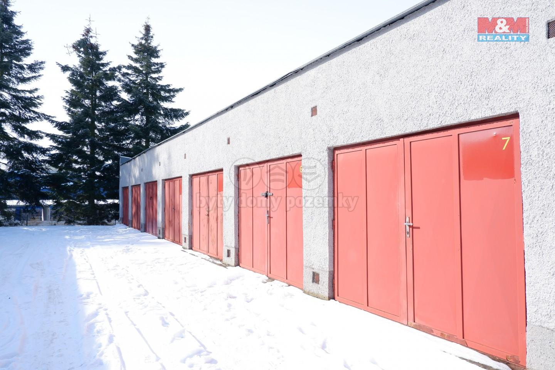 Prodej garáže, 18 m², Písek, ul. Samoty