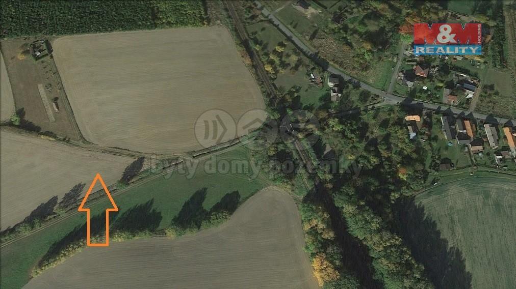 Prodej pole, 2987 m², Srby