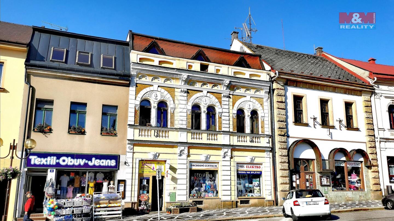 Pronájem obchod a služby, Lomnice nad Popelkou,ul. Husovo