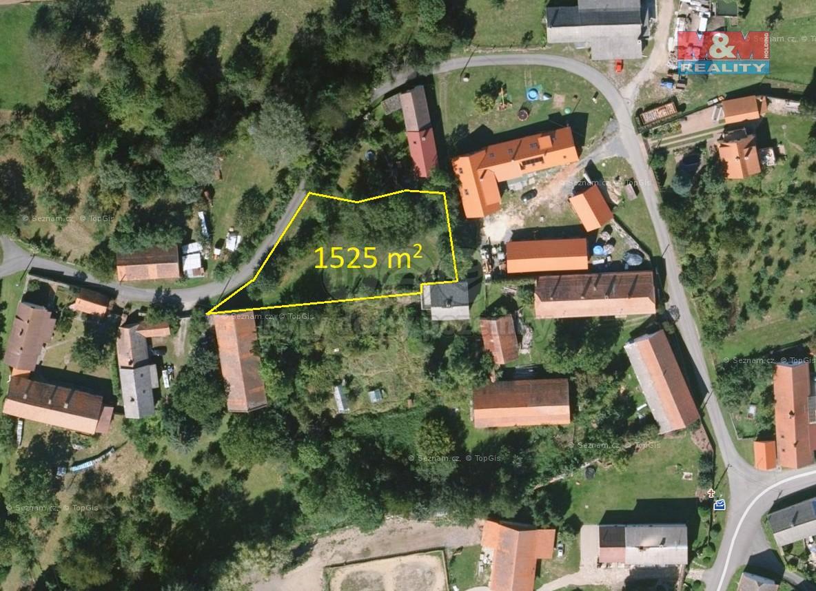 Prodej pozemku k bydlení, 1525 m², Maršovice