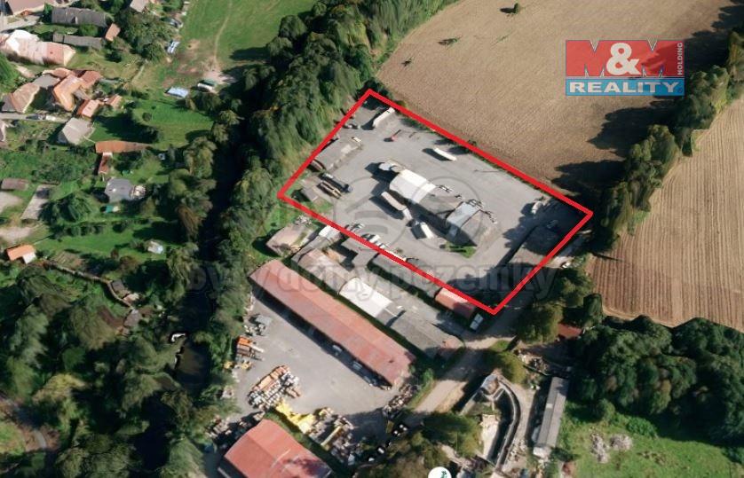 Pronájem, skladovací plochy, 1296 m², Plasy, ul. V Aleji