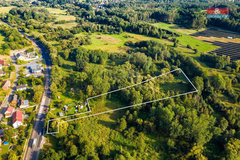 Prodej pozemku 8004 m², Česká Lípa, ul. U Ploučnice