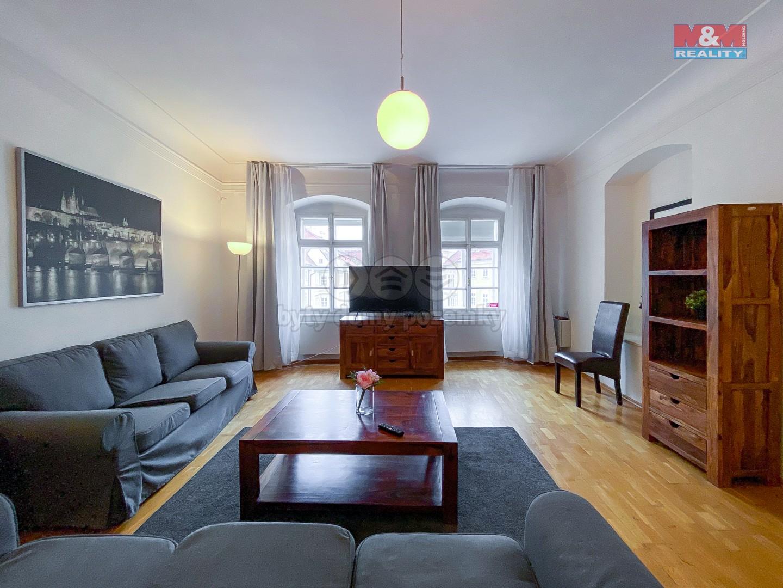 Podnájem bytu 2+1, 95 m², Praha, ul. Maltézské náměstí