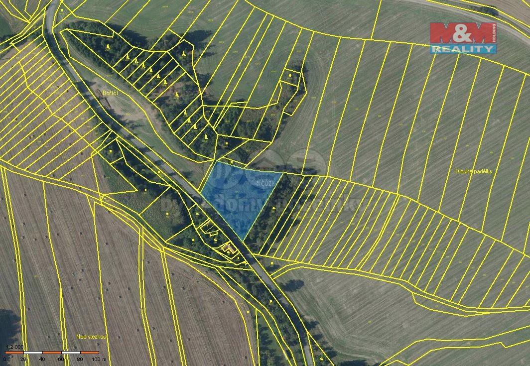 Prodej pozemku, 3941 m², Konice