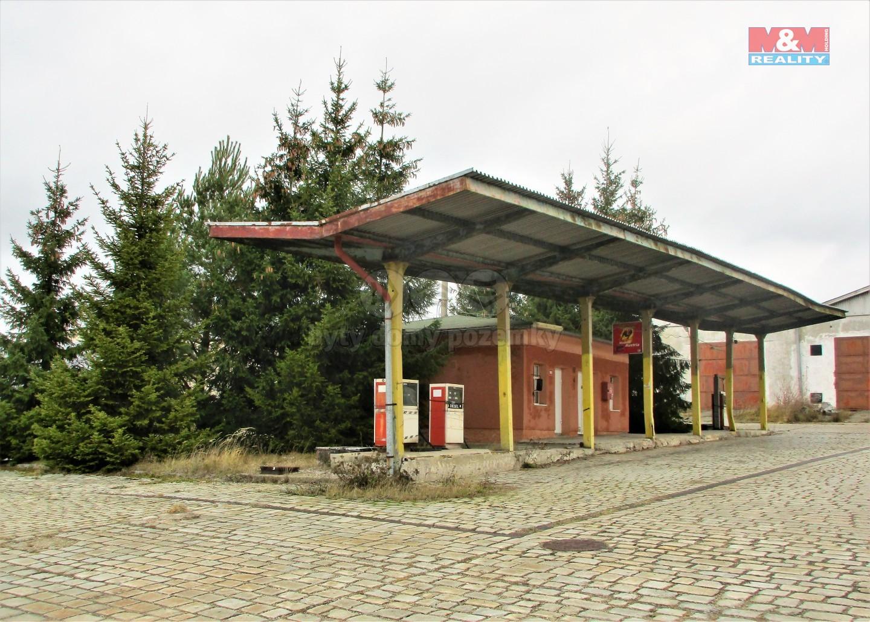 Prodej, čerpací pumpa, 1071 m², Strašice