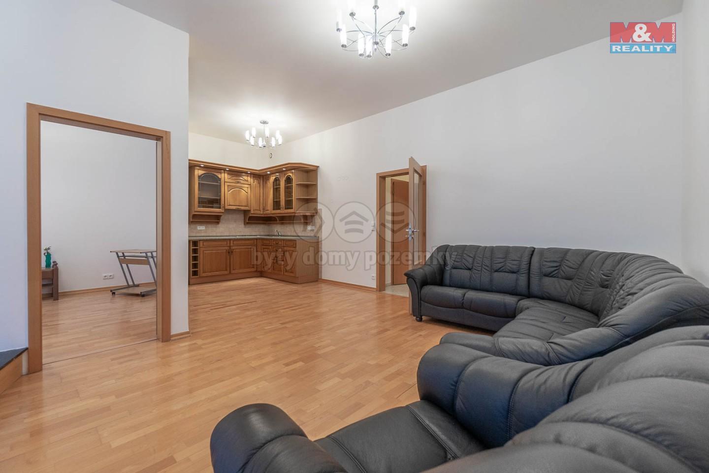 Pronájem bytu 2+kk, 80 m2 s terasou, Praha 6 - Bořislavka