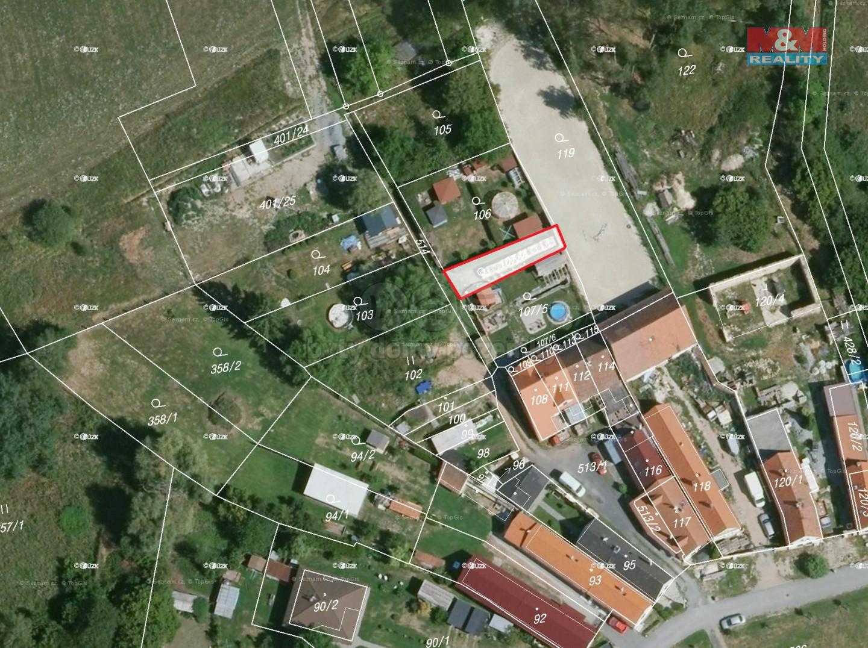 Prodej zahrady, 108 m², Nová Ves