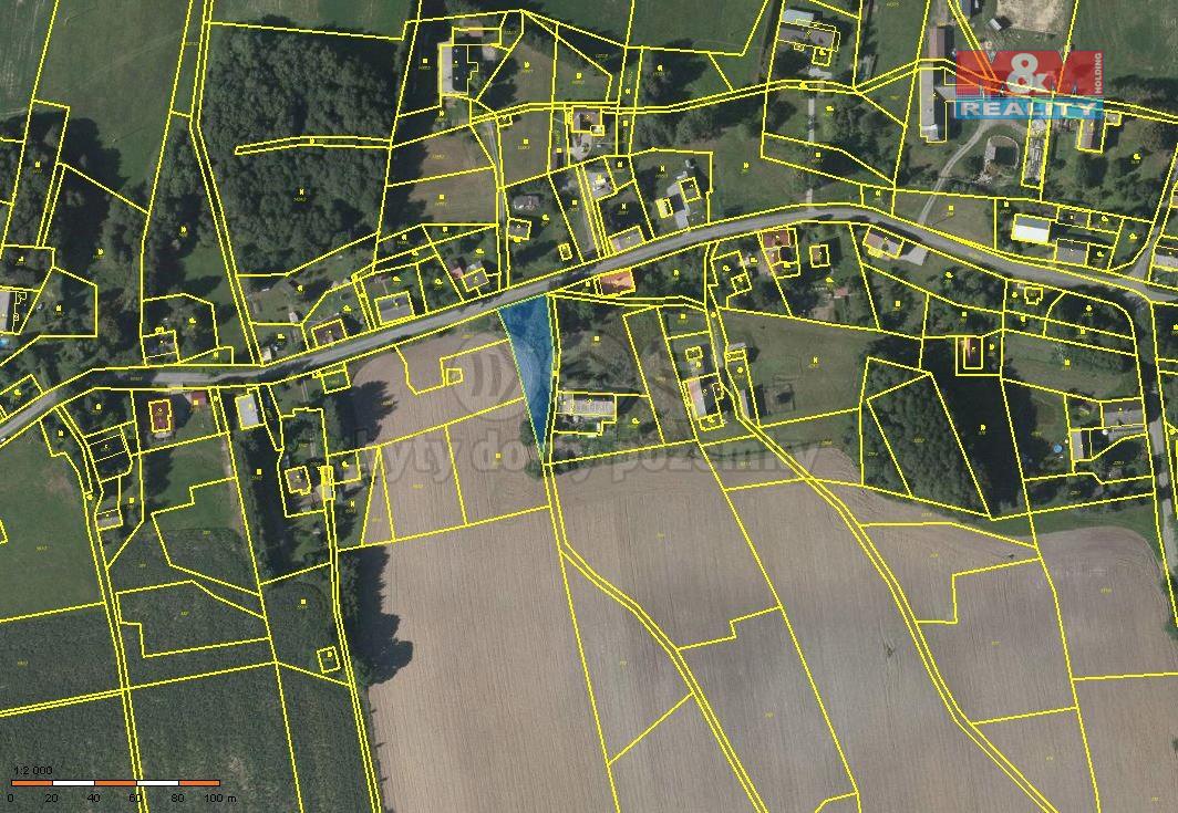 Prodej pozemku k bydlení, 1033 m², Štíty