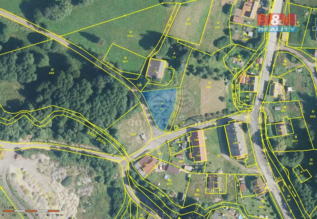 Prodej pozemku k bydlení, 735 m², Lampertice