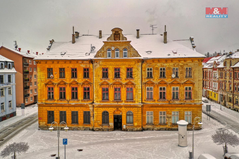 Prodej nájemního domu, Vejprty, ul. náměstí T. G. Masaryka