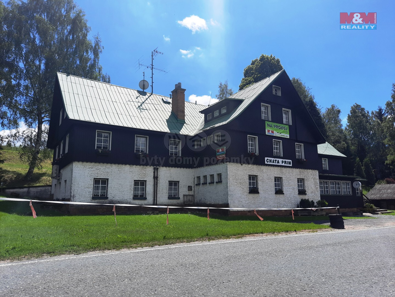 Prodej hotelu, penzionu, 4603 m², Deštné v Orlických horách