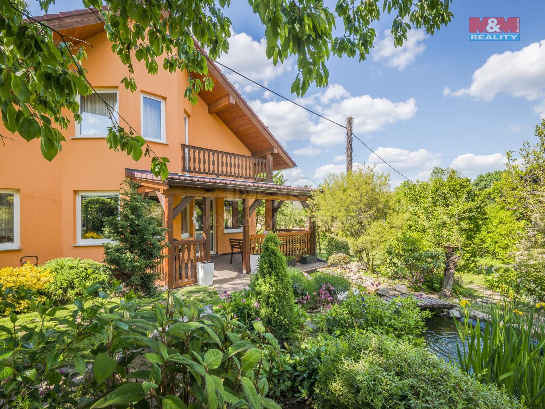 prodej, rd Bystřice - Radošovice, 1070 m2 (Prodej, rodinný dům 6+kk, 1070 m², Bystřice - Radošovice), foto 1/28