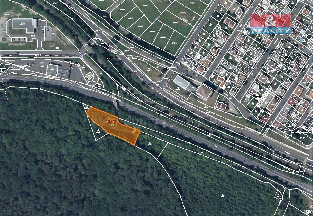Prodej zahrady, 4225 m², Teplice-Prosetice