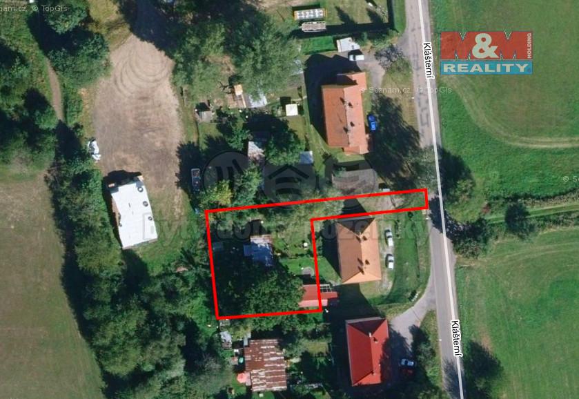 Prodej pozemku k bydlení, 750 m², Votice, ul. Klášterní