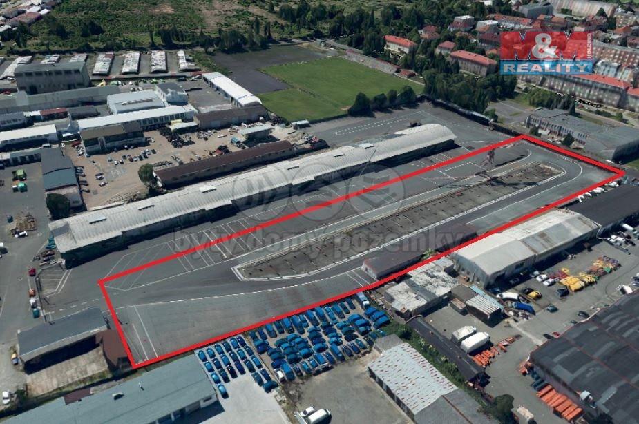 Pronájem, provozní plocha, 4450 m², Plzeň, ul. Skladová