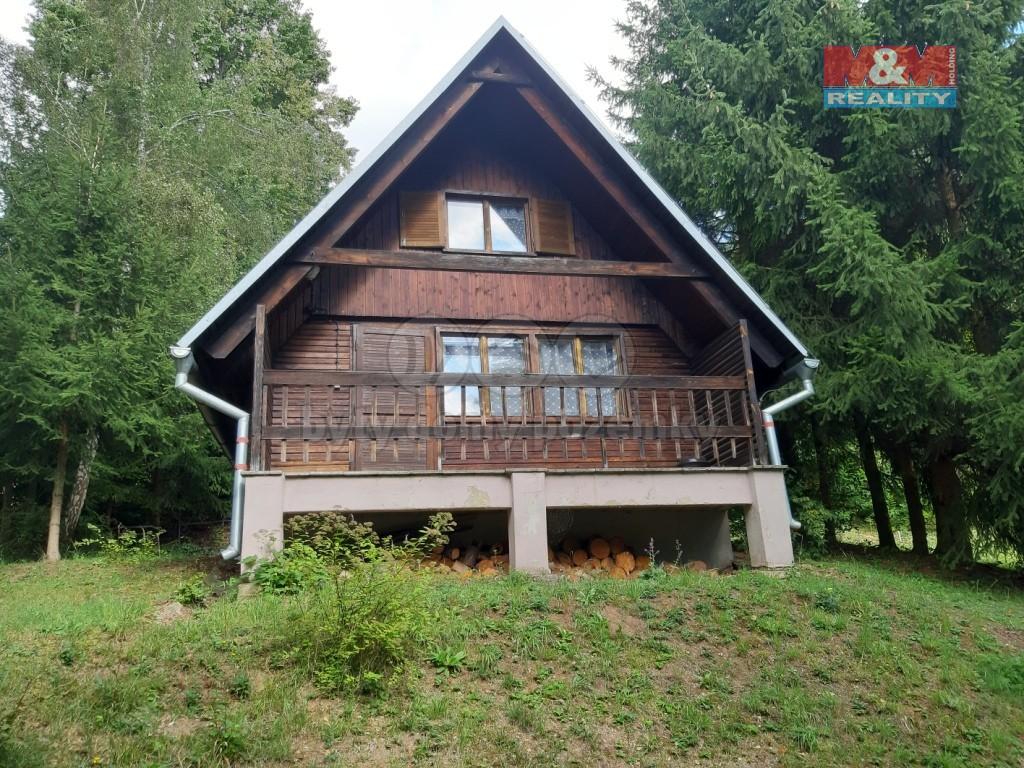 Prodej, chata 3+kk, 68 m2, Kladoruby