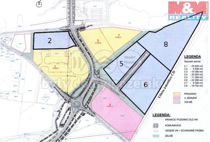 Prodej, pozemek pro komerční výstavbu, Poběžovice