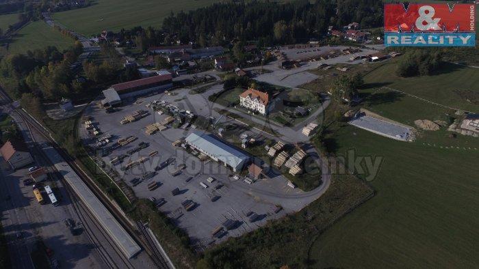 (Prodej, pila, 67664 m2, Horní Planá), foto 1/27
